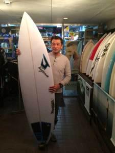 JUSTICE SURF BOARD EDGE