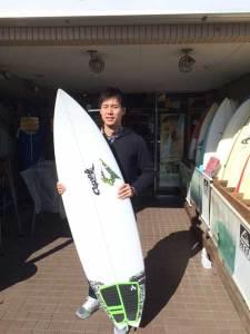 JUSTICE surfboard SWIFT