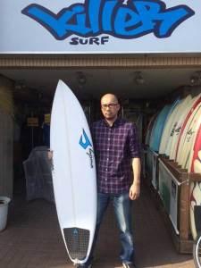 JUSTICE surfboard FOP