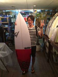 JUSTICE surfboard MODISH PRO