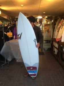 JUSTICE surf board FOP