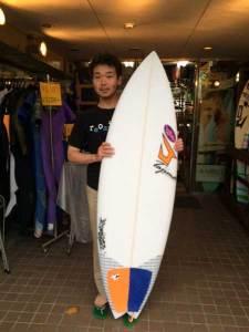 JUSTICE surf board DIVA