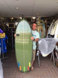 PEARTH surf board Pocket