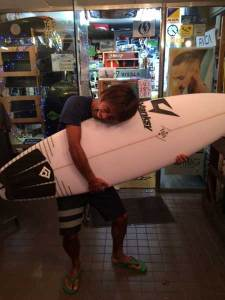 JUSTICE surfboard BUCK PUCK