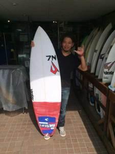JUSTICE surfboard BUCKPUCK