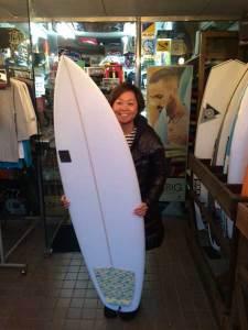 PEARTH surf board Bubble model