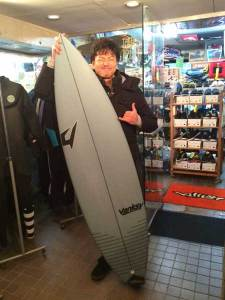 JUSTICE surf board THE ACE