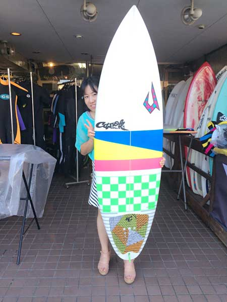 JUSTICE surfboard Buzz model