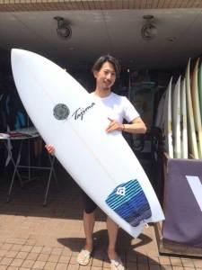 JUSTICE surf board RAPTOR model