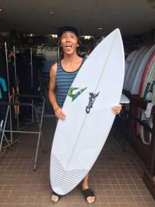 JUSTICE surfboard Buzz model