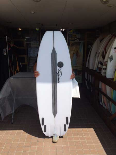 JUSTICE surf board Barracuda