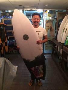 JUSTICE surfboard chilli pinacolada