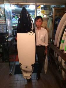 JUSTICE surfboard FLEXFLY FOP 6'1