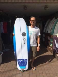 JUSTICE surf board Barracuda