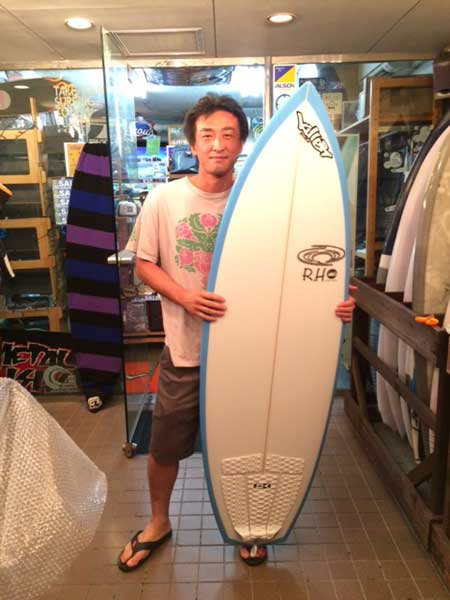 PEARTH surfboard Wave Monster model