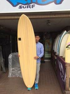 PEARTH surfboard DRIVE