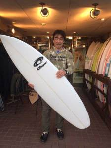 PEARTH surfboard okumura model