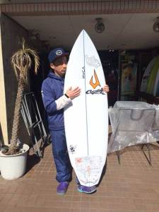 JUSTICE surf board Mr.SPUD