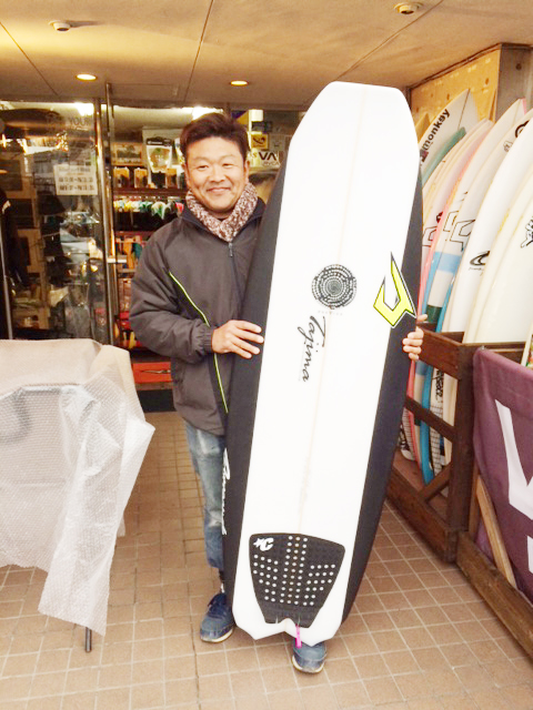 JUSTICE surf board Barracuda モデル