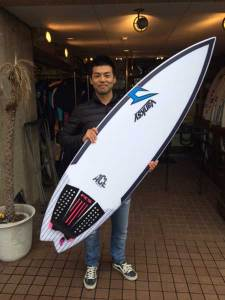 JUSTICE surf board THE ACE 50/50