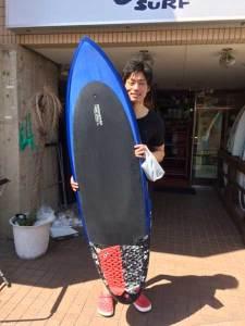 JUSTICE surf board FLAVOR 6'0