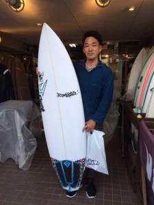 JUSTICE surf board Mr.SPUD