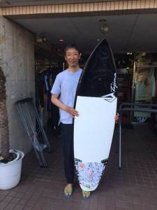 JUSTICE surf board FLEX FLY FOP model