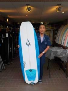 JUSTICE SURF BOARD BARRACUDA MODEL