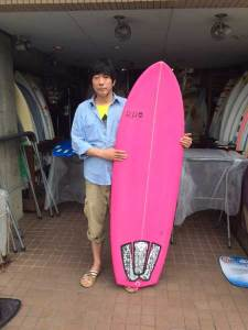 PEARTH surfboard hothot model