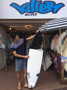 JUSTICE surfboard Flex Fly  Fop 5'10