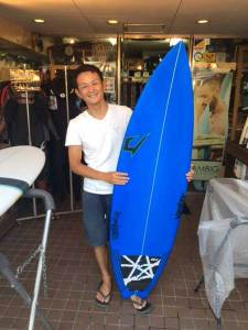 JUSTICE surfboard THE ACE model