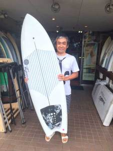 JUSTICE surf board FLEXFLY RAPTOR HB 5'8