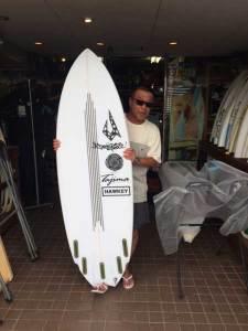 JUSTICE surfboard HAWKEY model