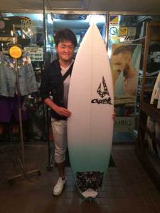 JUSTICE surf board GEM model