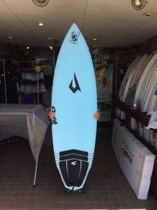JUSTICE surf board Mr.SPUD model