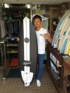 JUSTICE surfboard HAWKEY