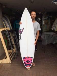 JUSTICE surfboard GEM model