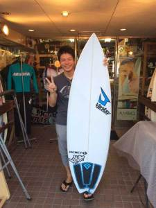 JUSTICE surfboard THE ACE 4ch