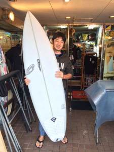 PEARTH surfboard THE ONE model
