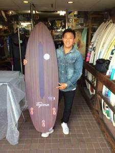 JUSTICE surfboard MANATEE MINI EPS