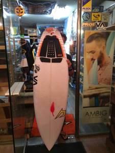 JUSTICE surfboard chilli churro model