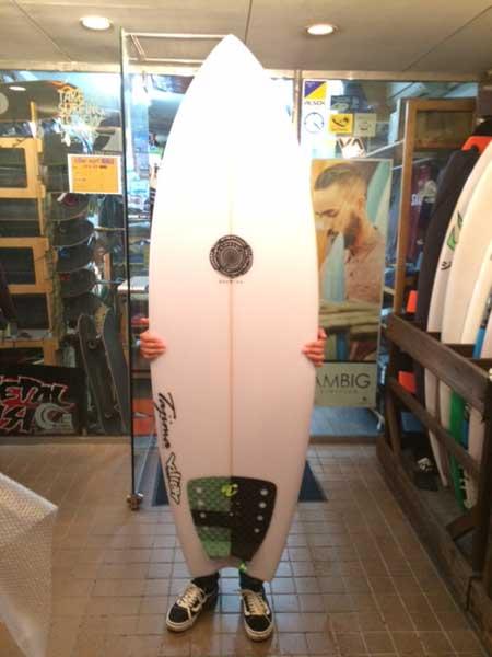 JUSTICE surfboard RAPTOR model