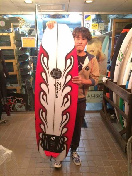 JUSTICE surfboard Barracuda model