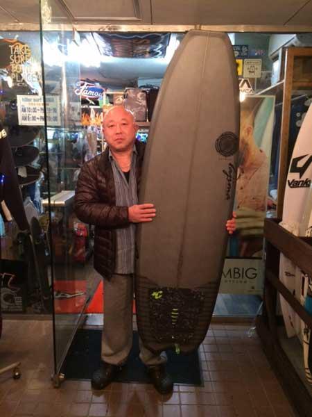 JUSTICE surfboard Barracuda