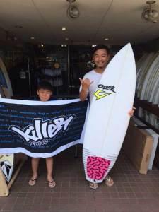 JUSTICE surfboard Mr.SPUD model