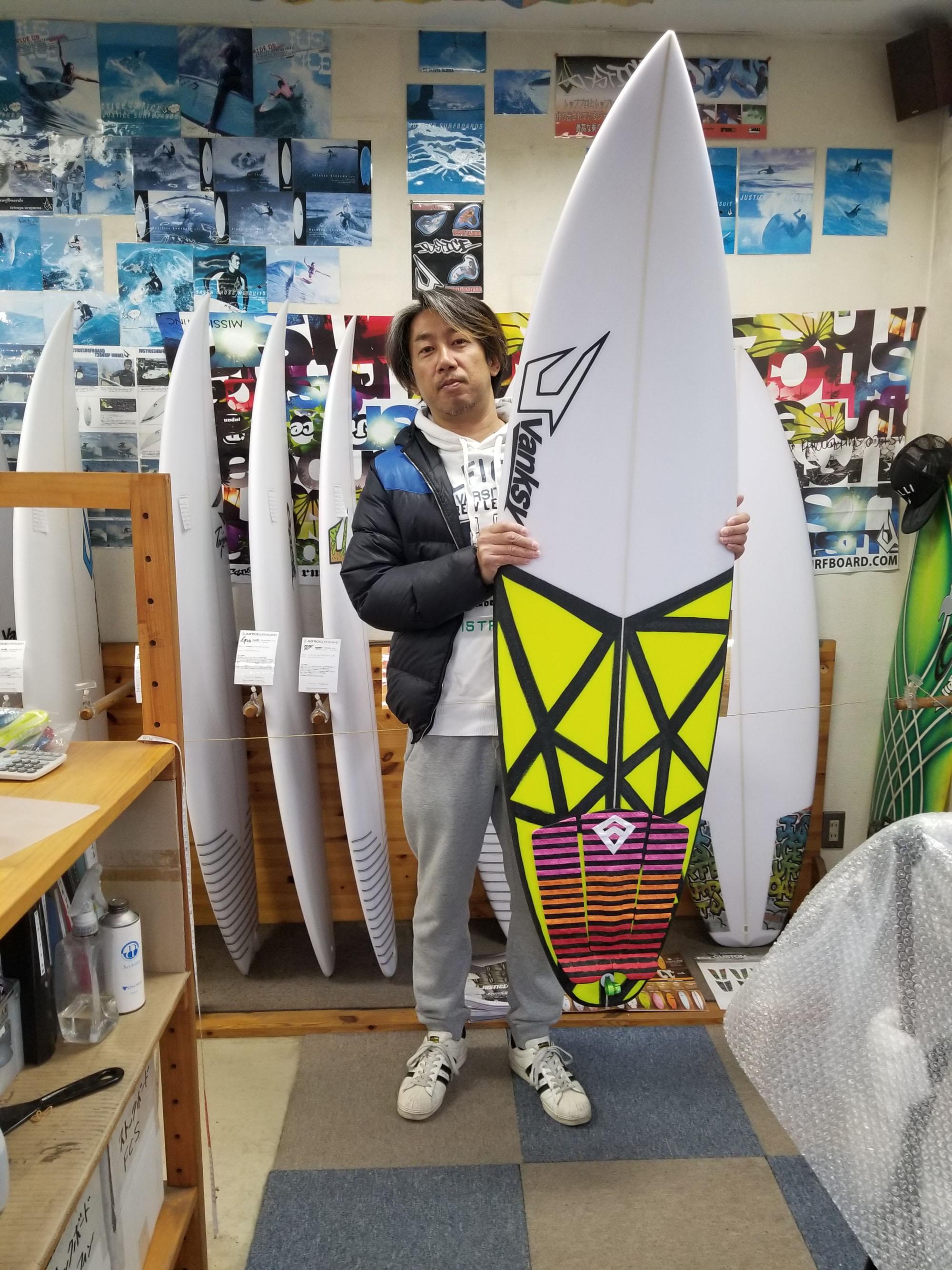 サーフボード ジャスティス グリード