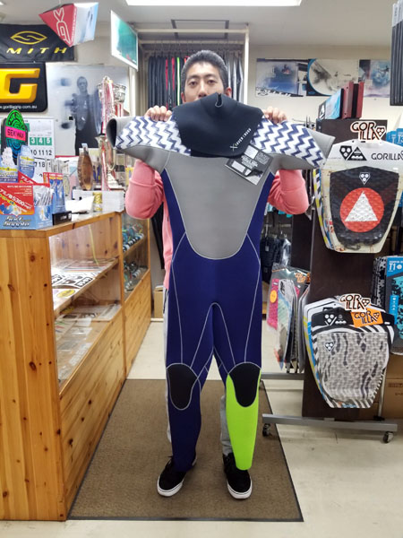 ウェットスーツ セイバークロス sp-z シーガル