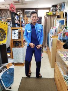ウェットスーツ セイバークロス ロングジャケット ロングジョン