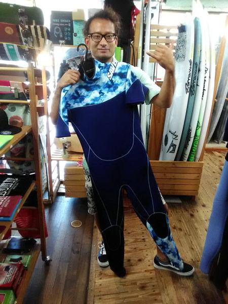 ウエットスーツ シーガル セイバークロス