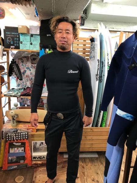 ウェットスーツ BEWET ロングタッパー